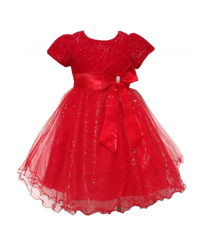 Toddler Sparkle Elegant Brilliant Bridesmaid