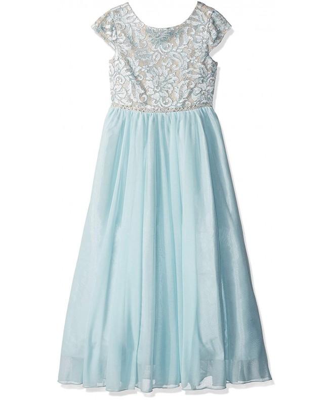 Speechless Girls Bodice Sleeve Dress