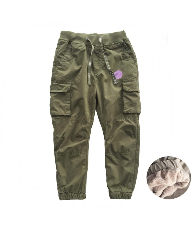 Abalacoco Winter Fleece Cotton Jogger