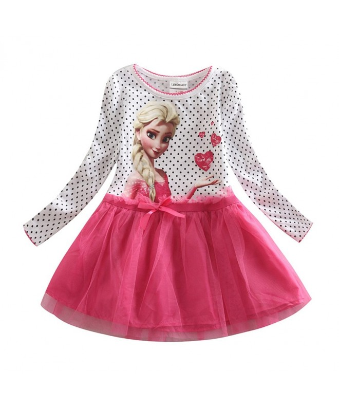 LEMONBABY Frozen Cartoon Girls Cotton