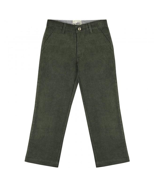 Buyless Fashion Pants Casual Corduroy
