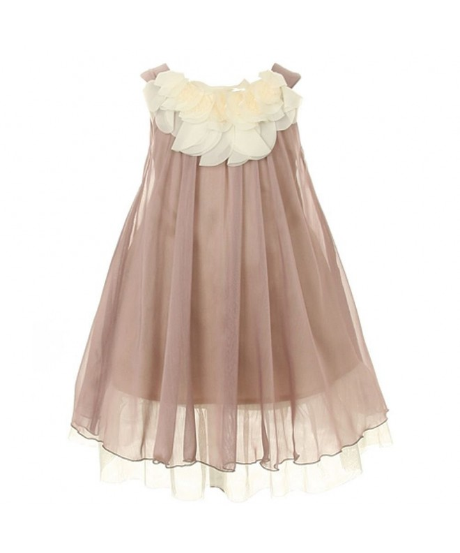Kids Dream Chiffon Floral Bodice