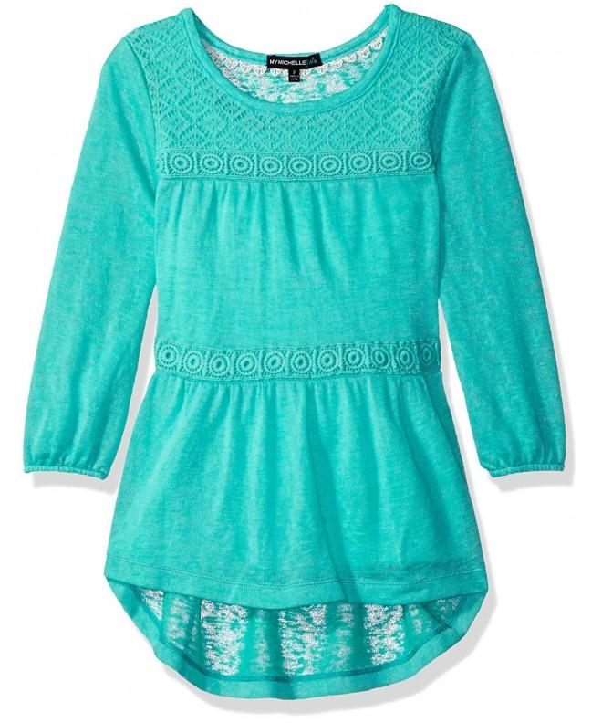 My Michelle Girls Sleeve Crochet