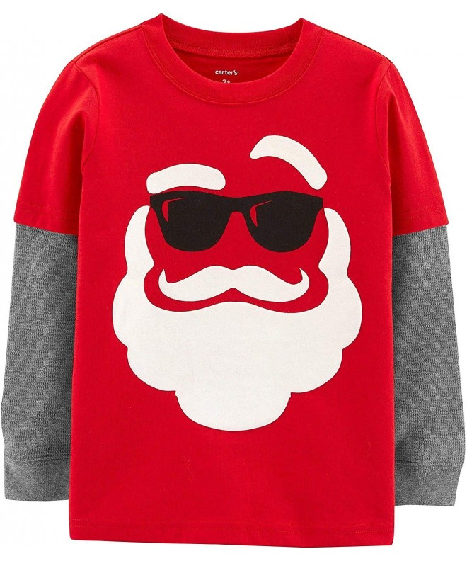 Carters Little Boys Long sleeve Christmas