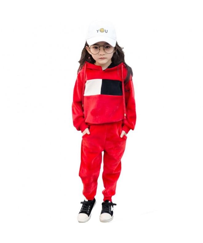 Rexury Hoodie Velour Sweatsuit Tracksuit