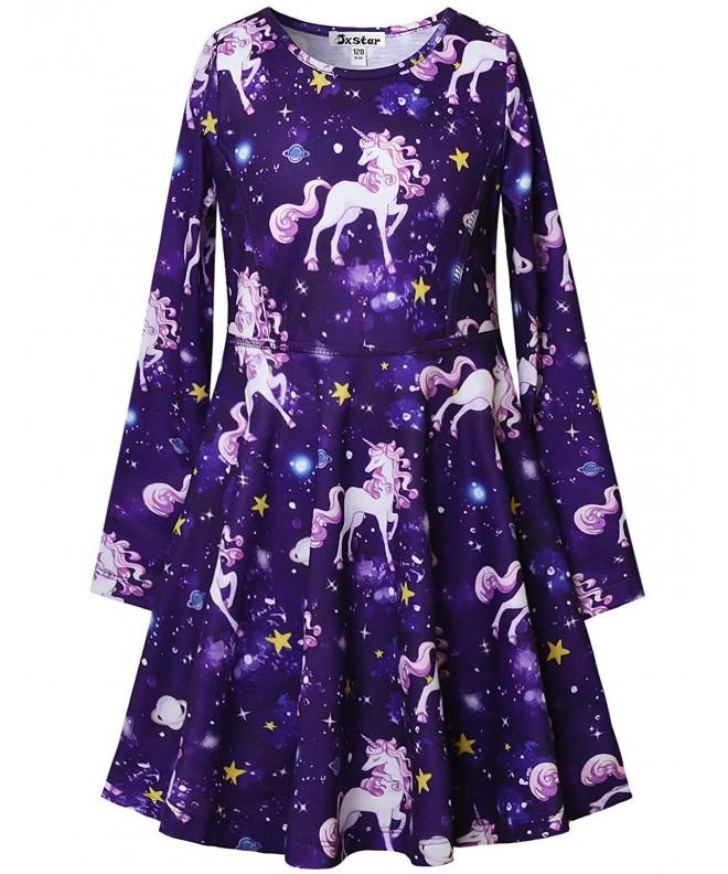 Jxstar Dresses Unicorn Clothes Outfits
