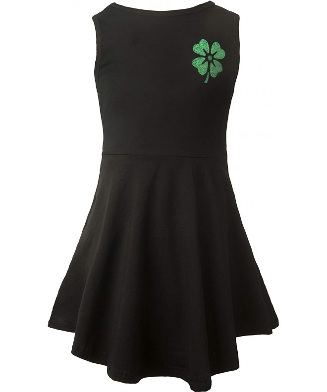 Ipuang Leaves Clover Sleeveless Casual