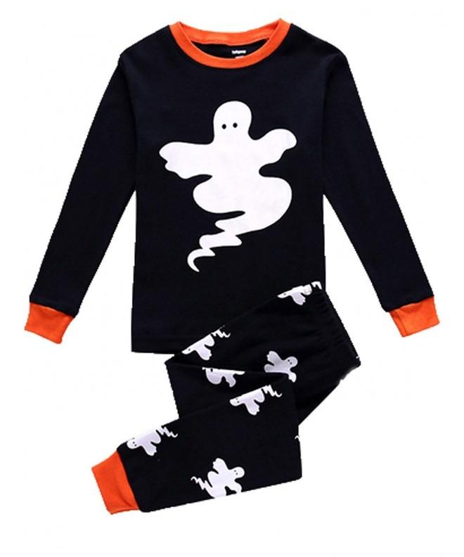 Little Halloween Pajamas Sleeve Sleepwear