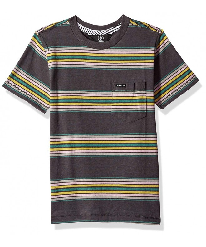 Volcom Little Sleeve Striped Pocket
