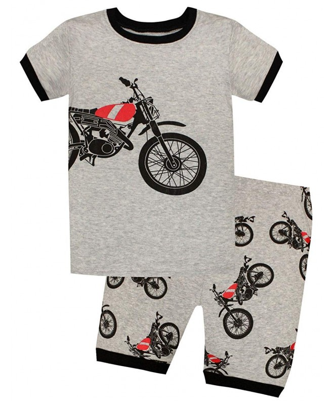 Pajamas Toddler Clothes Motorcycle Sleepwear