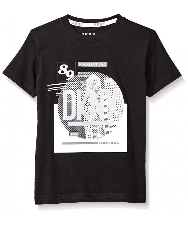 DKNY Little Sleeve Circle T Shirt
