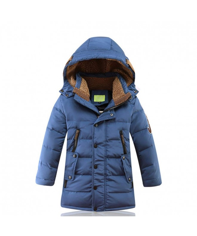 GX GLOBAL Winter Fleece Hooded