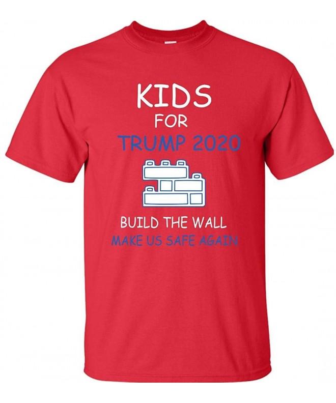 Kids Trump 2020 Build T Shirt