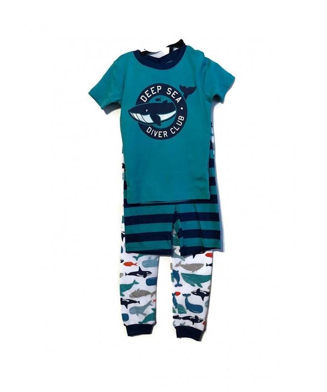 Carters Piece Pajama Diver Sharks