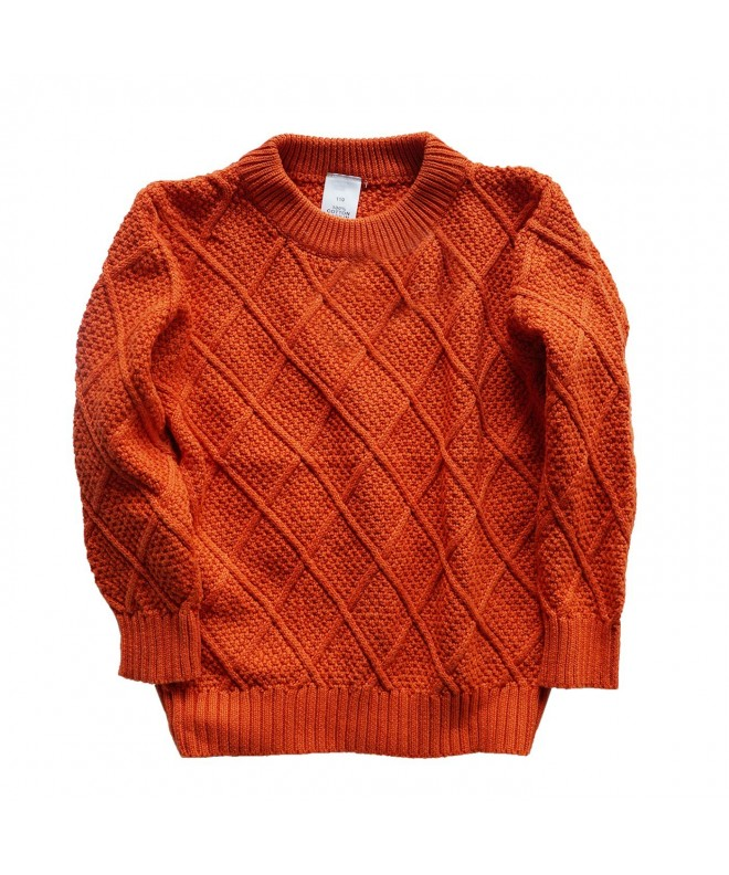 Abalacoco Knitted Sweater Pullover Sweatshirt