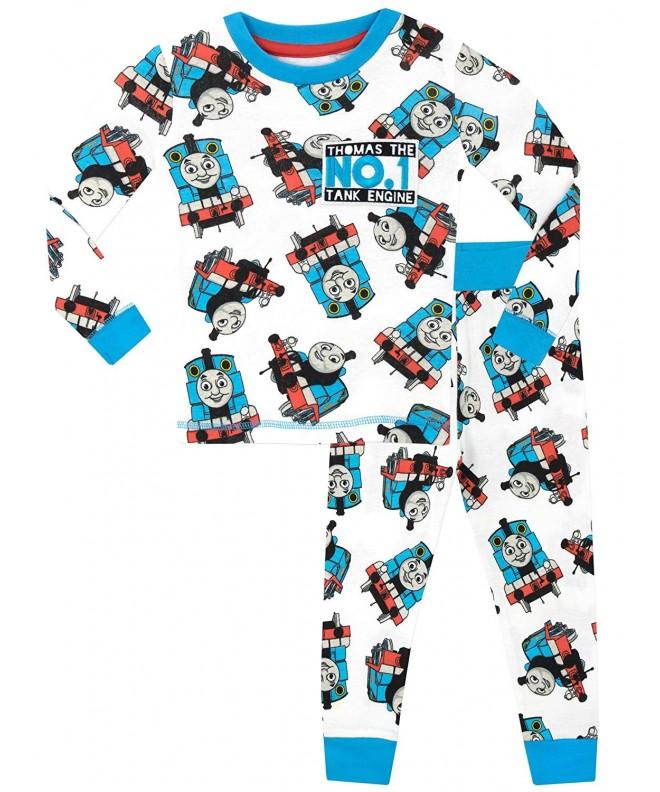 Thomas Tank Boys Pajamas Size