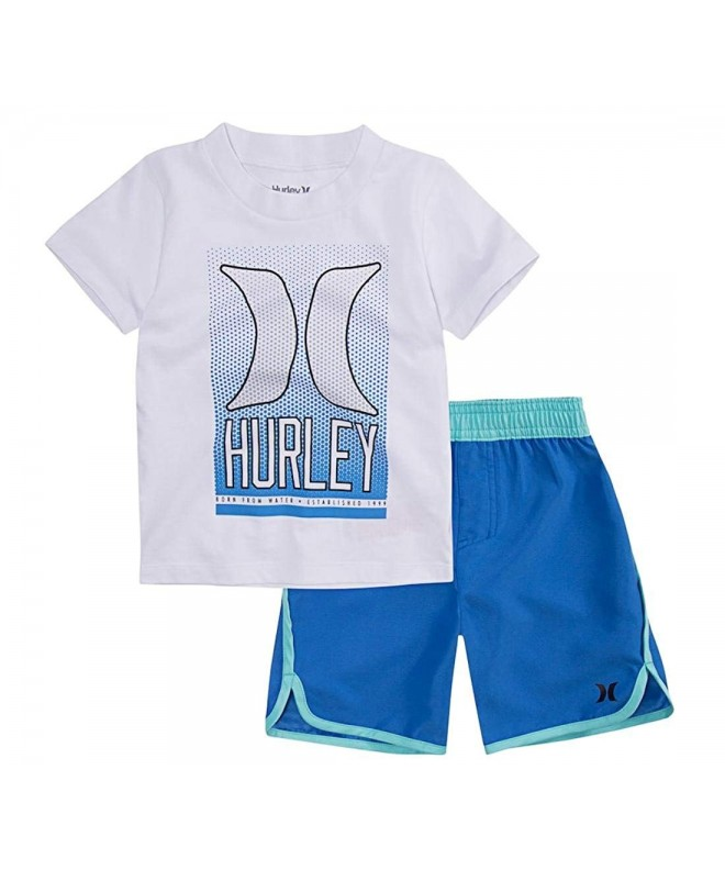 Hurley Toddler Ombre Graphic Shorts
