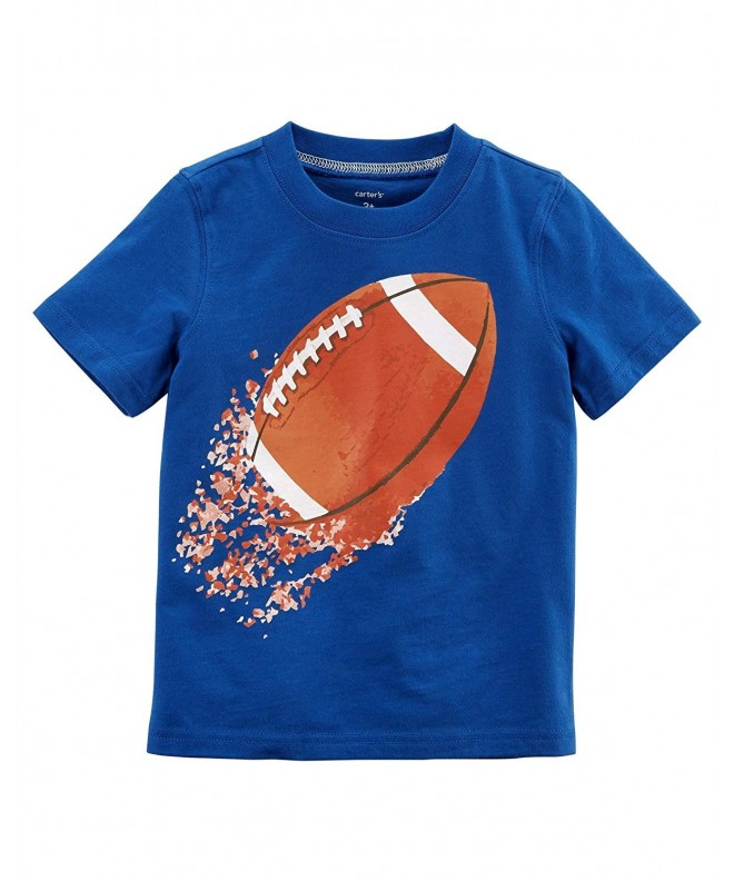 Carters Boys Short Sleeve Football