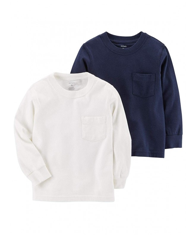 Carters Boys 2 Pack Long Sleeve