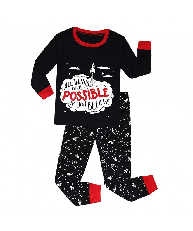 Pajamas Dinosaur Cotton Christmas Toddler