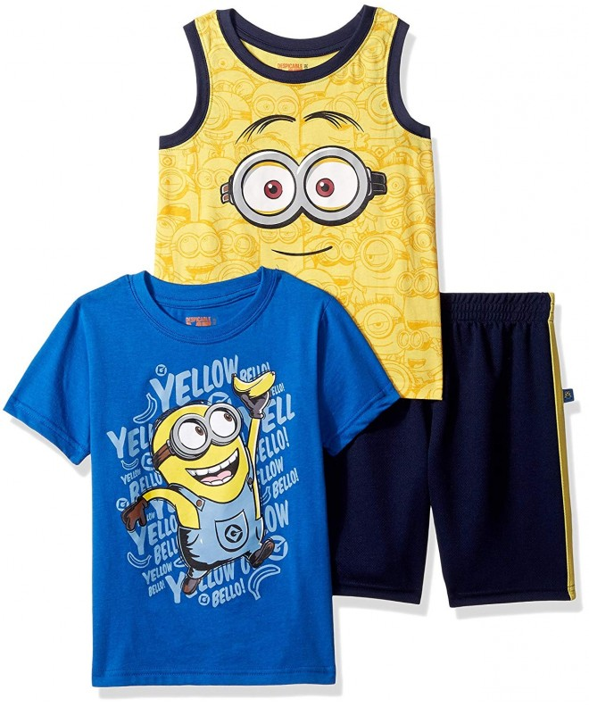 Universal Boys Minions Piece Short