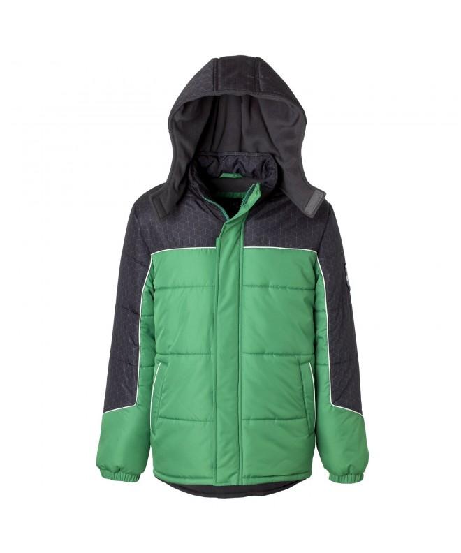 iXtreme Stuffed Colorblock Puffer Jacket
