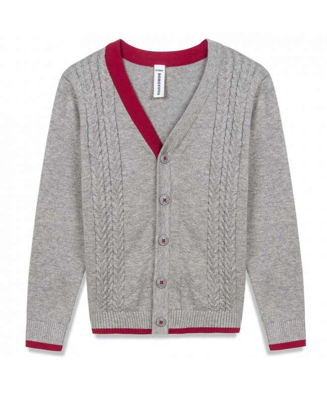 BOBOYOYO Cardigan Sweater Sleeve Uniform