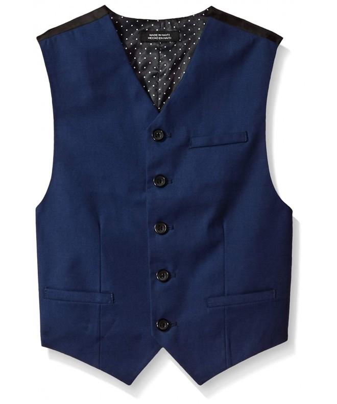 Heusen Calendered Wool Blend Vest