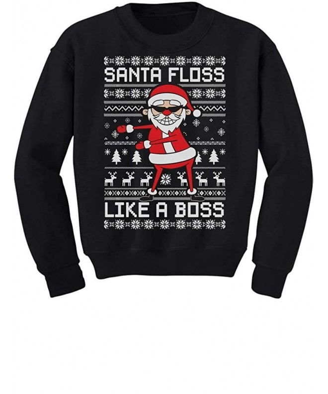 Santa Floss Christmas Sweater Sweatshirt