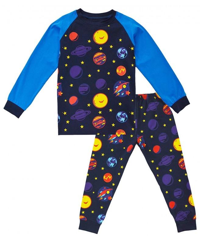 KISBINI Toddler Cartoon Cotton Pajama