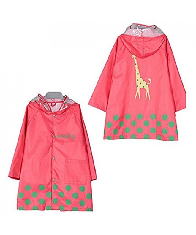 TopRen Waterproof Childrens Raincoat Lightweight