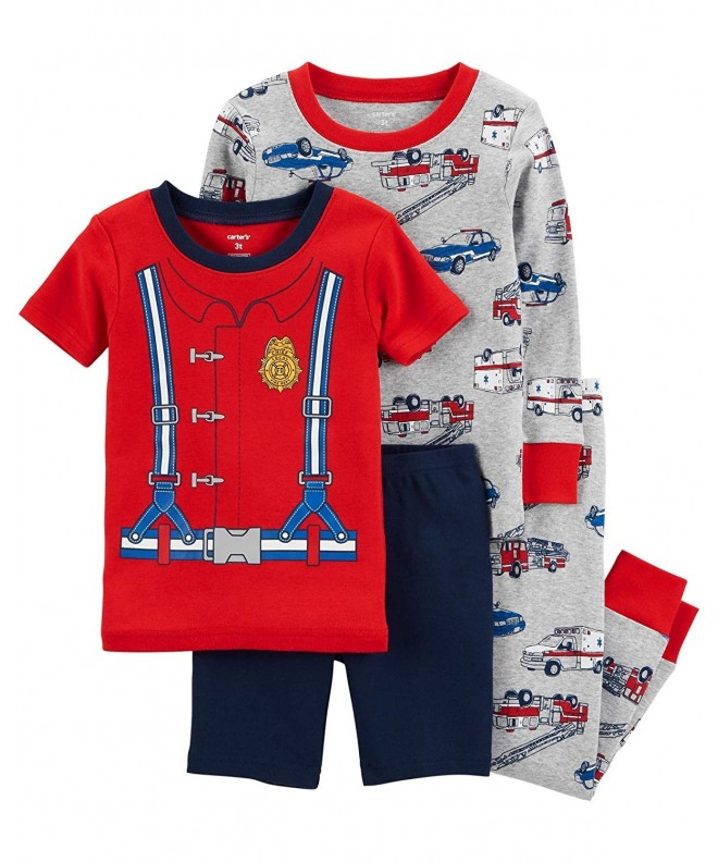 Carters Toddler Pajama Cotton Firefighter