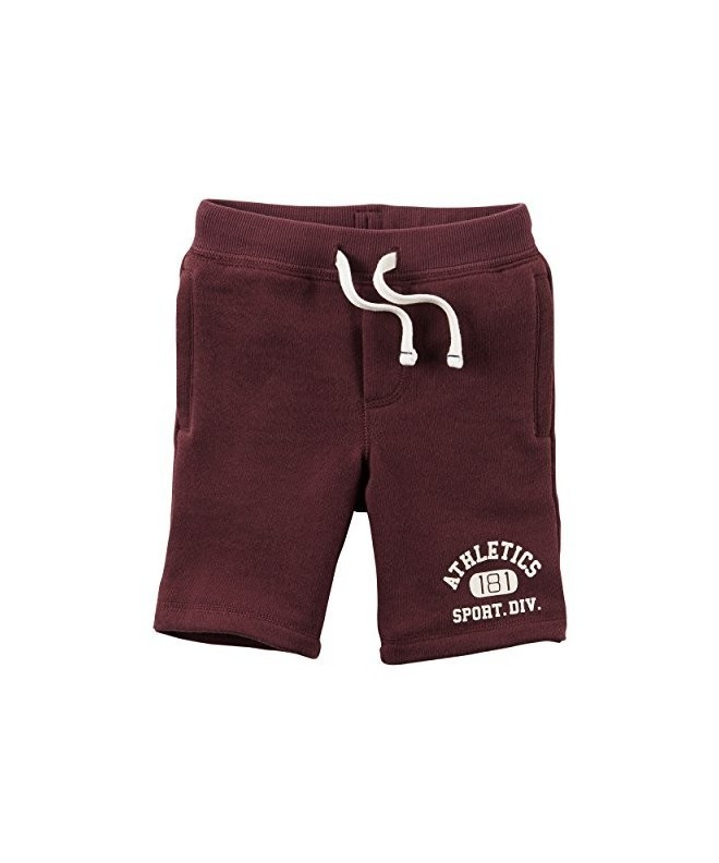Carters Little French Burgundy 2 Toddler