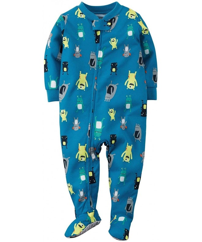 Carters Little Print Footie Toddler