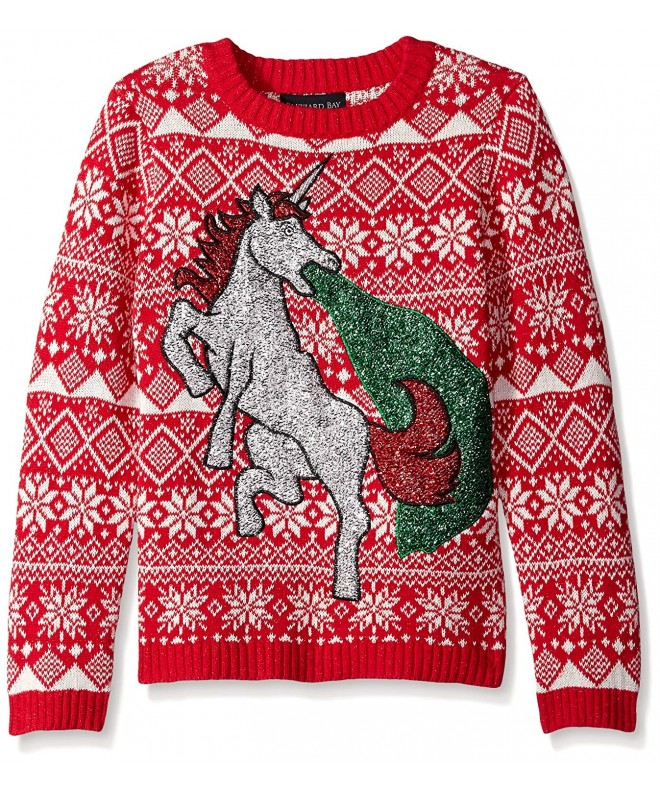 Blizzard Bay Glitter Unicorn Sweater