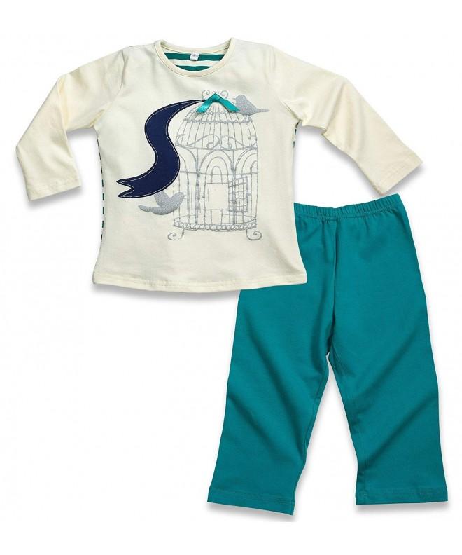 Candyland Sleeve Pajamas 2 Piece Cotton