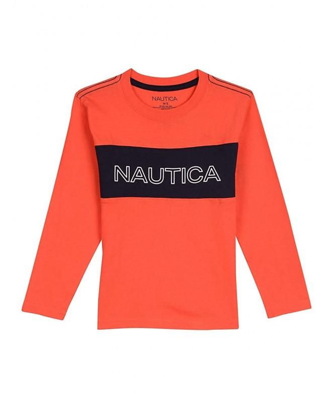 Nautica Boys Sleeve Graphic T Shirt