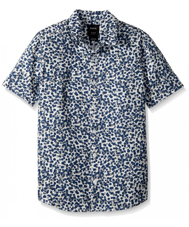 RVCA Barrow Short Sleeve Woven