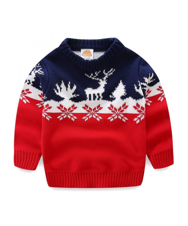 Mud Kingdom Christmas Sweaters Reindeer