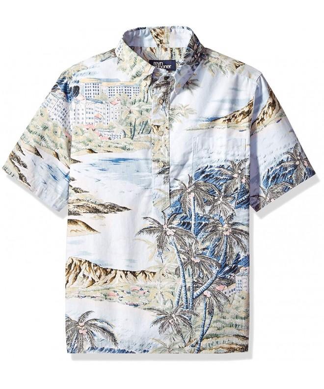 Reyn Spooner Pullover Hawaiian Shirt