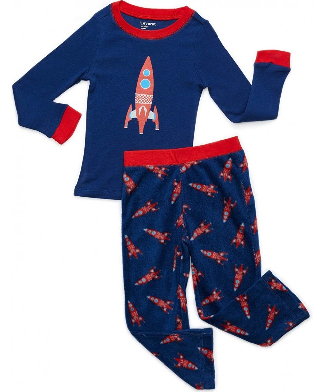 Leveret Pajamas Cotton Sleepwear Toddler 14