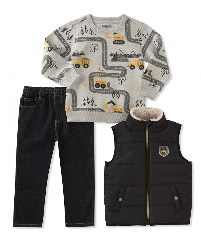 Kids Headquarters Boys Vest Set