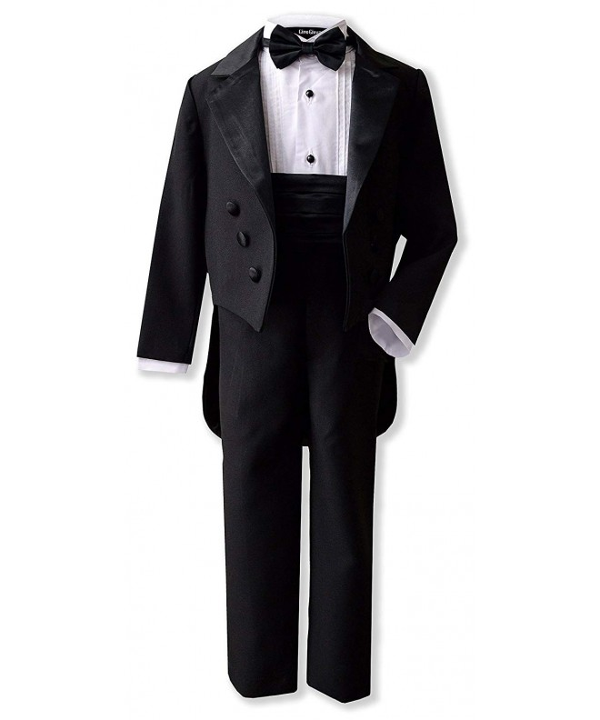 Gino Giovanni Black Formal Tuxedo