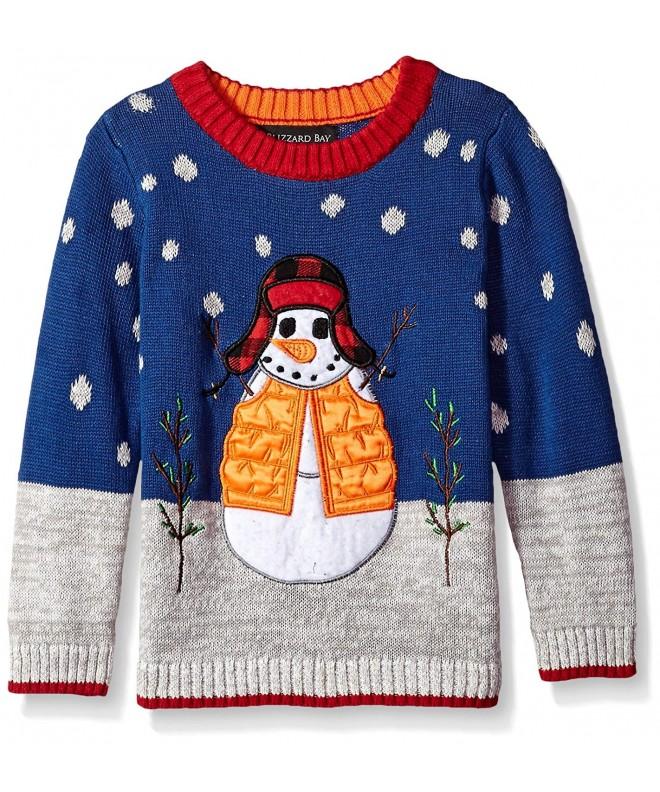 Blizzard Bay Little Snowman Sweater