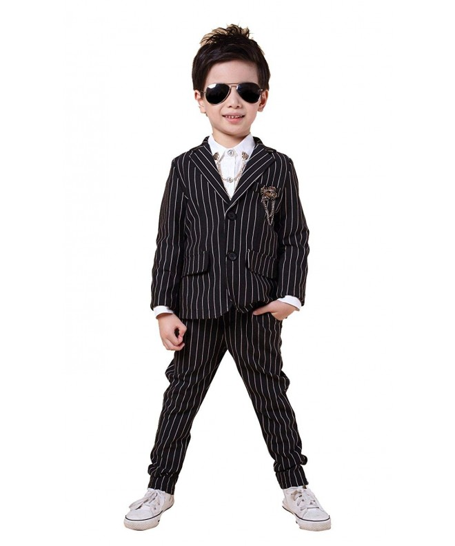 Pinstripe Separated Blazer Pieces Colors