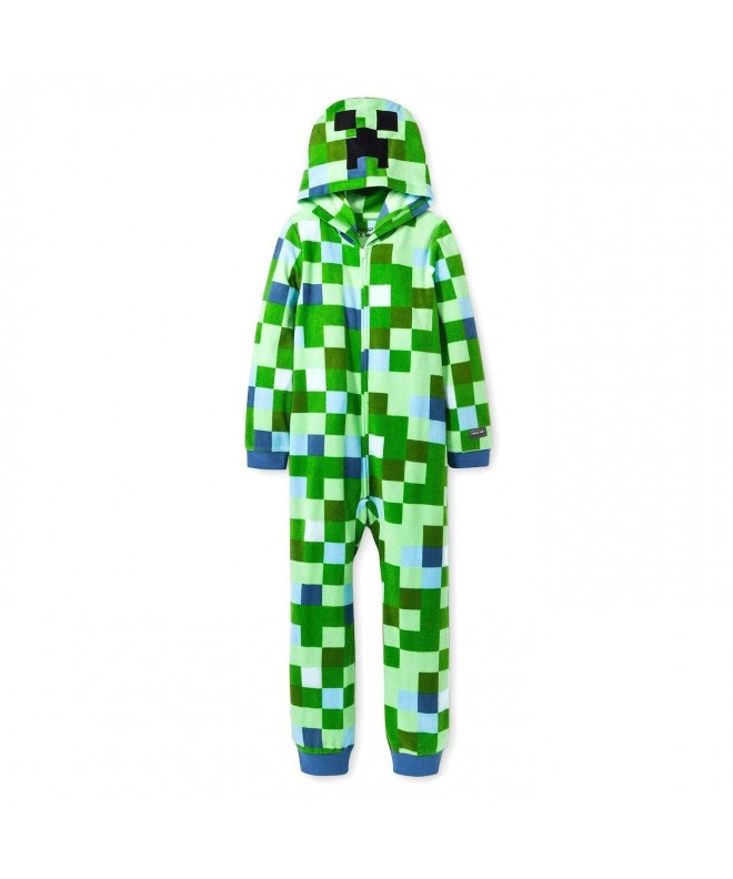 Minecraft Charged Creeper Pajamas AME
