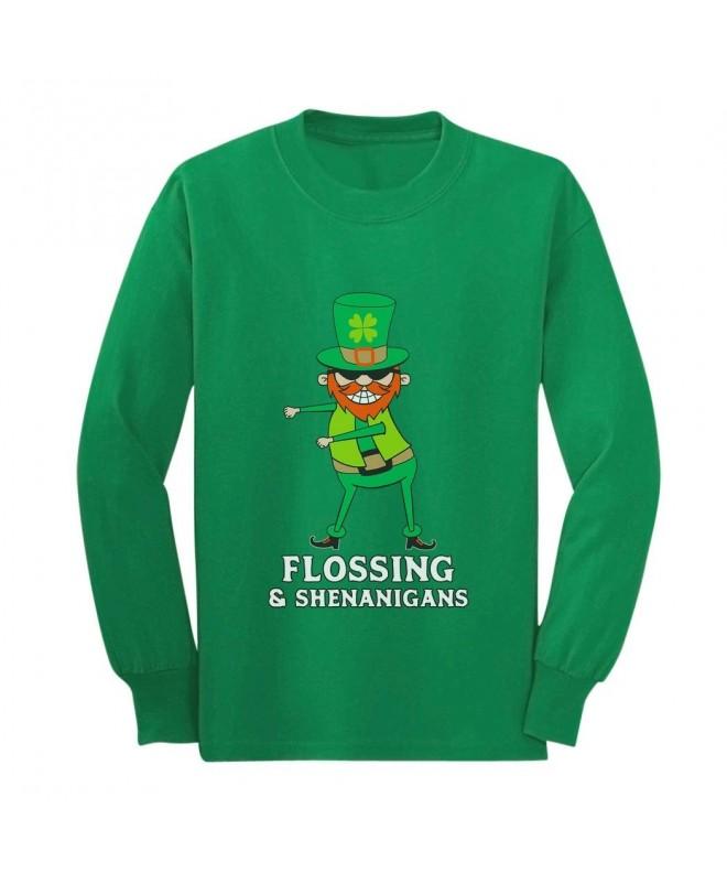 Patrick Flossing Shenanigans Leprechaun T Shirt