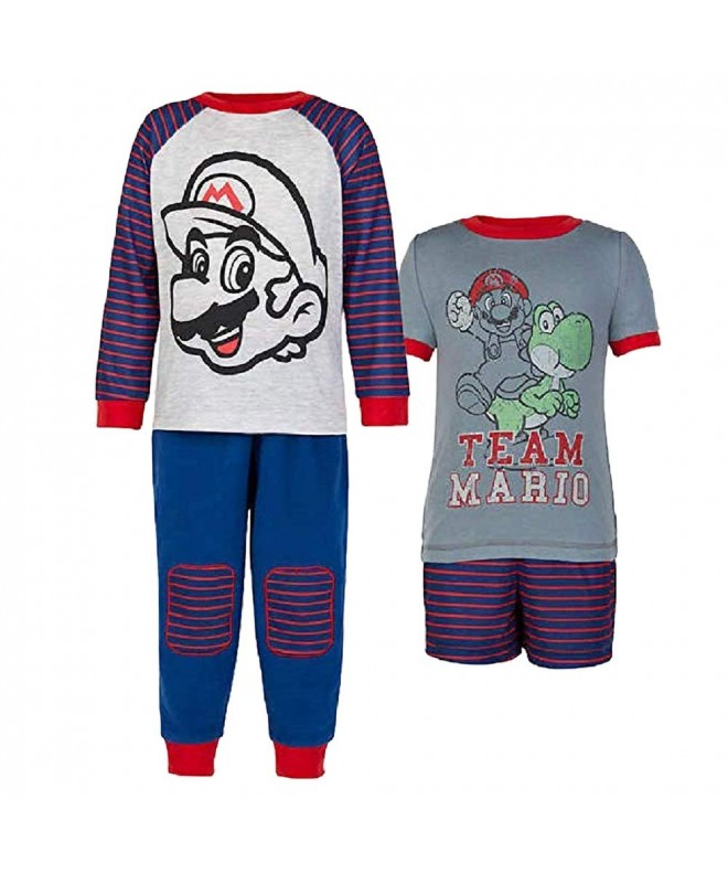 Komar Kids 4 Piece Sleepwear Multicolored