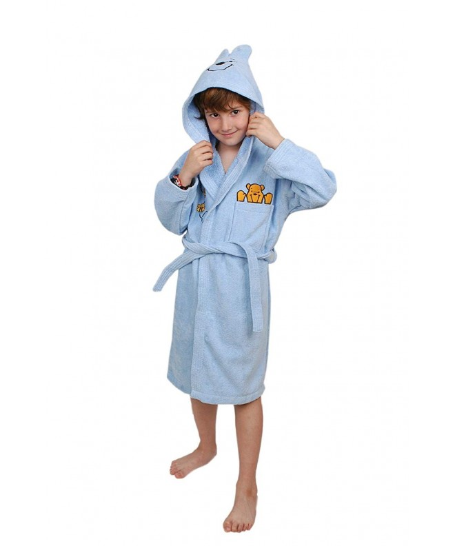 Ekstra Soft Cotton Bathrobe Embroidered