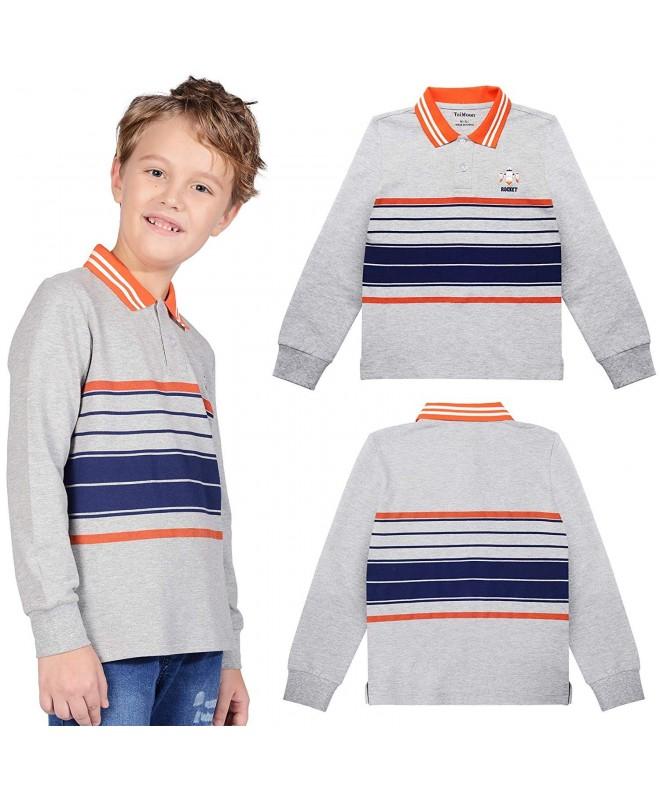 TaiMoon Stripe Shirts Cotton T Shirt
